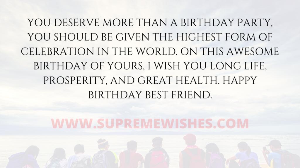 birthday friend quote
