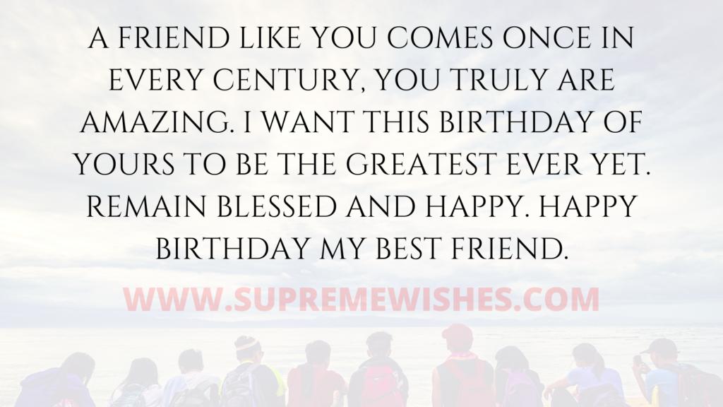 sweet friend birthday