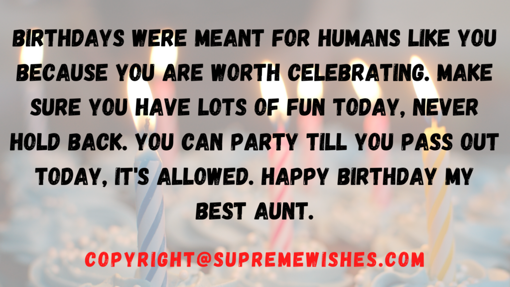 pics for aunt birthday wish
