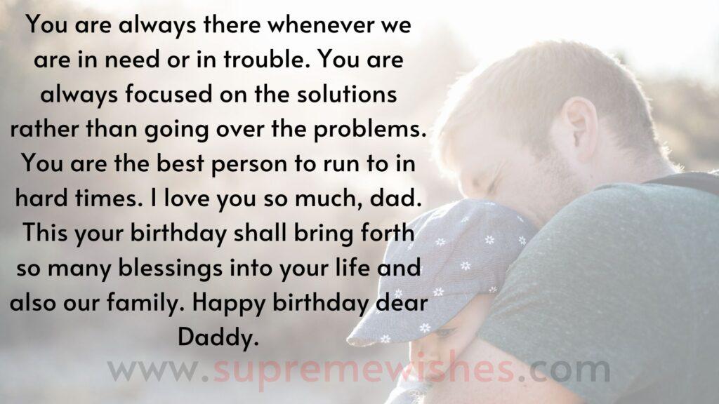 happy birthday dad image