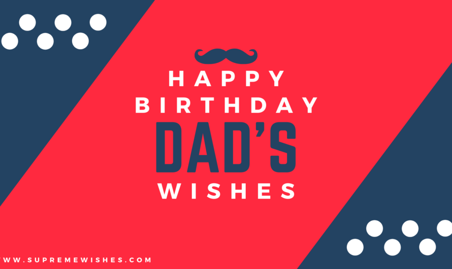 Happy Birthday DAD | Beautiful Birthday Wishes For Father
