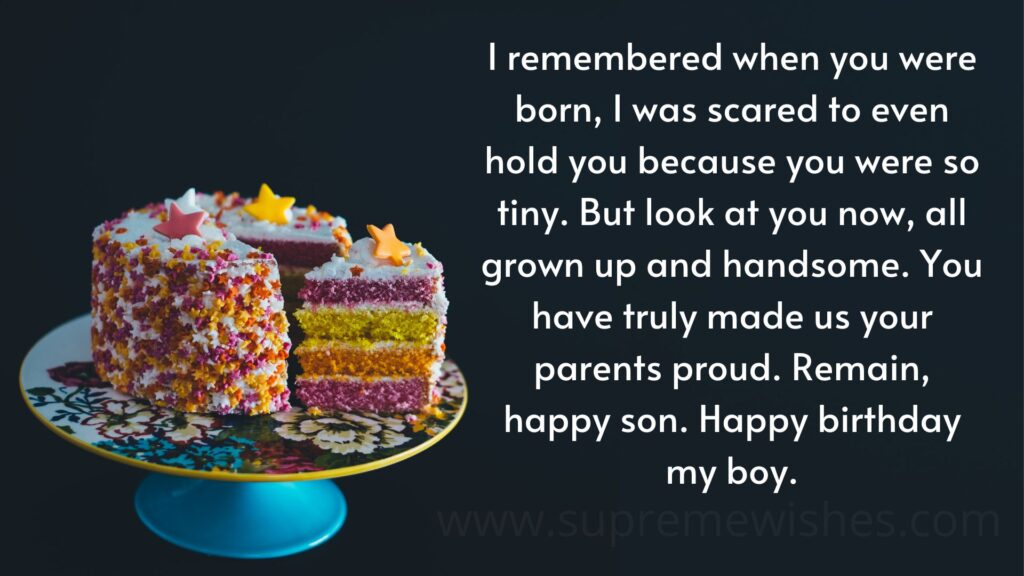 Happy Birthday Son Image