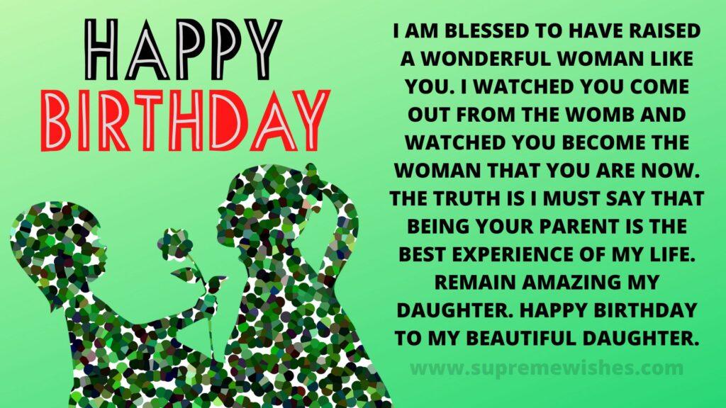 Happy birthday daughter image