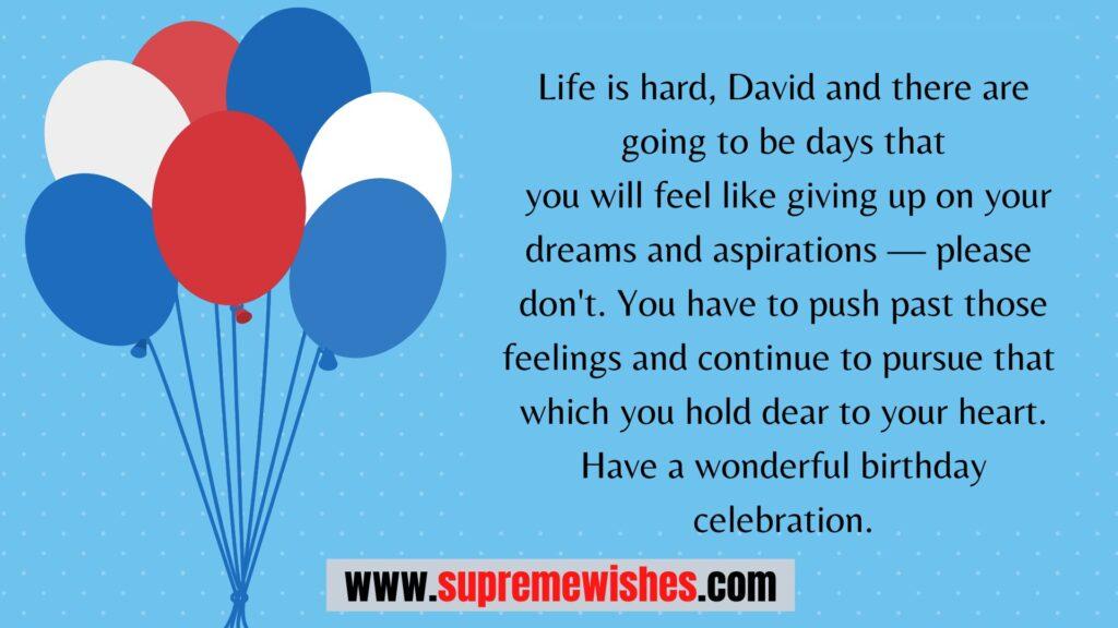 happy birthday david meme
