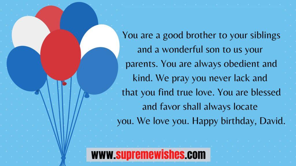 happy birthday david cake