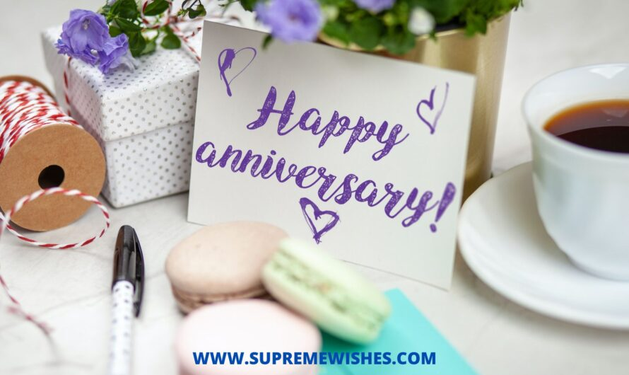 How To Say Happy Anniversary To My Husband | Supreme Wishes