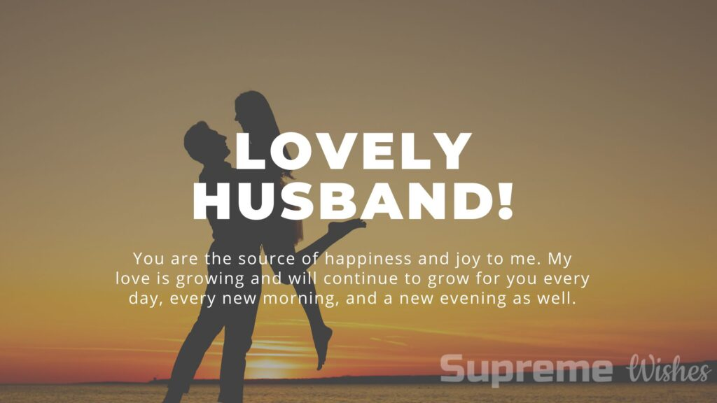 hubby love quotes